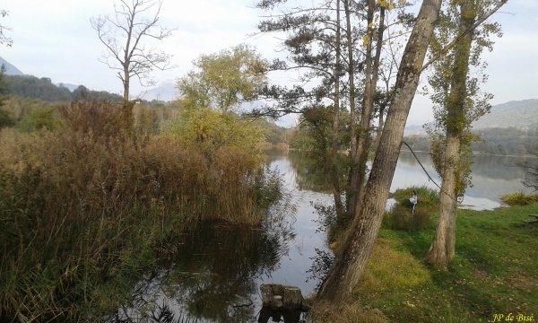 2018, le 4 novembre. L'automne, du lac de St-André au lac de St-Hélène.
