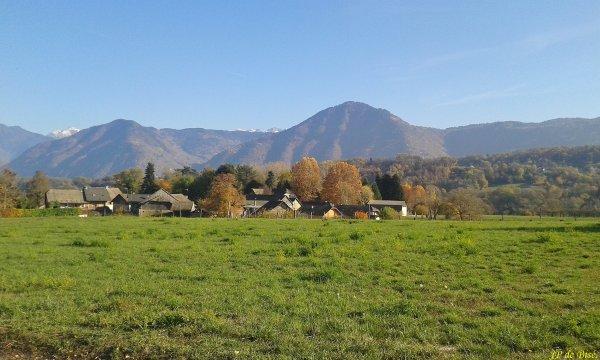 2018, le 12 novembre.C'est l'été indien dans la Combe de Savoie !