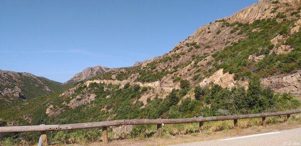 2019, le 6 juillet. Bocca San'Ustagiu aux roches flamboyantes !