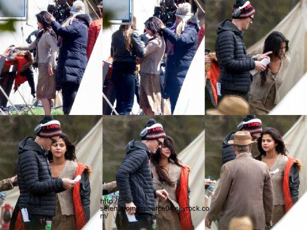 27 mars 2015 : Selena a été vue sur le plateau de tournage du film In Dubious Battle