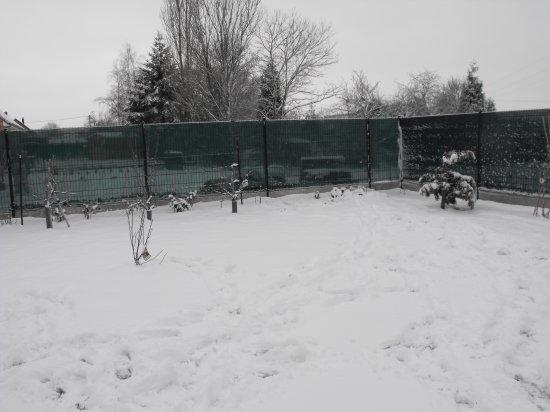 il neige toujour