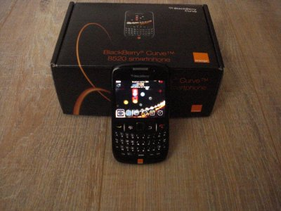 Article n°4 : Blackberry Curve 8520.