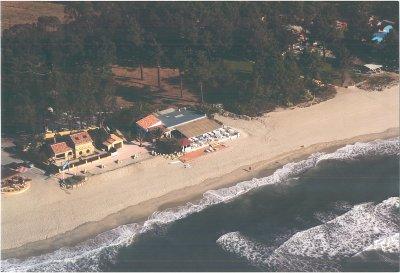 Vue aérienne de la Villa et de la Plage de Vignale (Ghisunaccia)