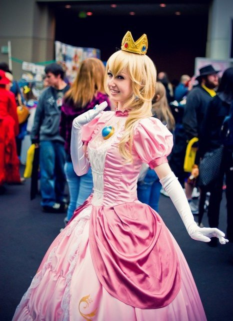 cosplay peach