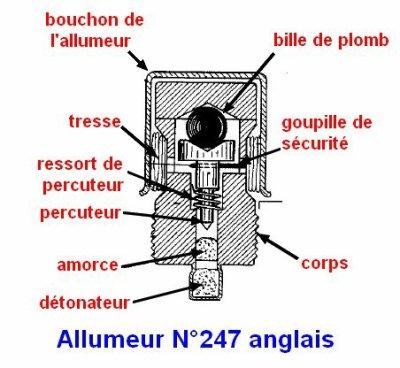La grenade N° 77 au phosphore  anglaise