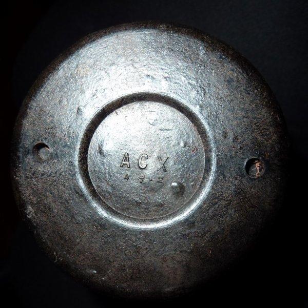Grenade lacrymogène Française modèle 1939