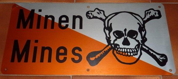 panneau mines Suisse