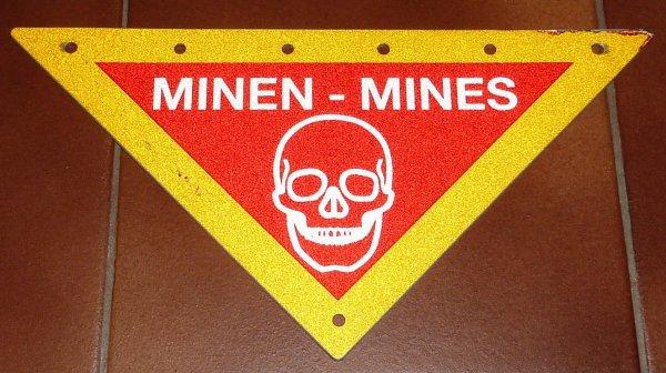 panneau mines Autrichien