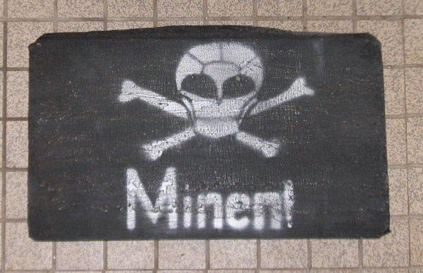 Copie de panneau mines Allemand