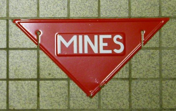 panneau Mines Français