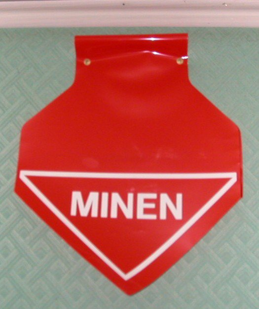 Fanion Mines allemand