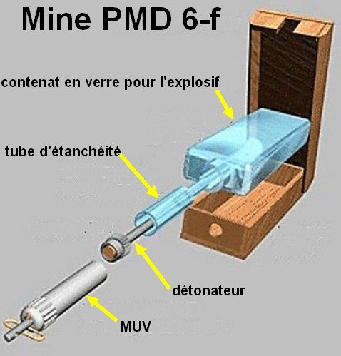 Mine PMD 6-f  Russe