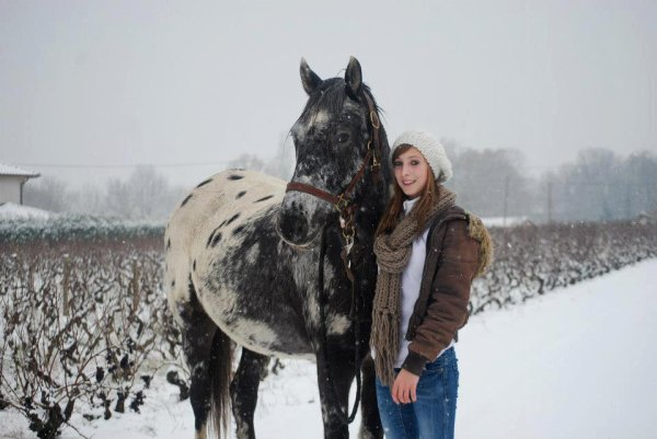 Pasque la neige on adore ! ♥