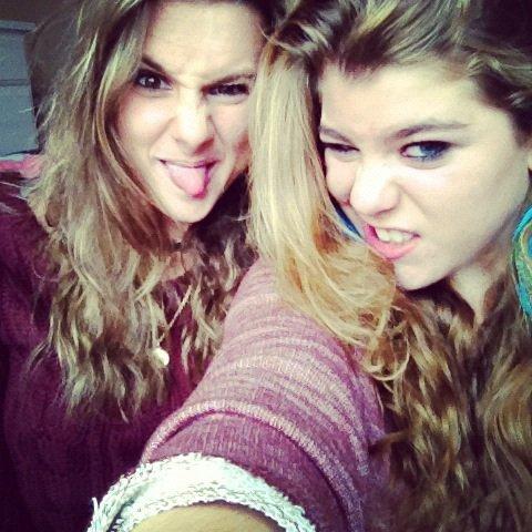 Fanny et Elodie.