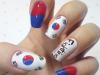 Faux ongles Corée
