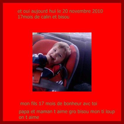 mayron 17 mois (le 20 novembre 2010)