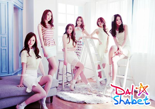 Infos sur le comeback des Dal★Shabet