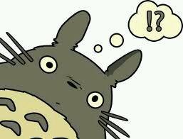 Voici le Totoro à question ! :3