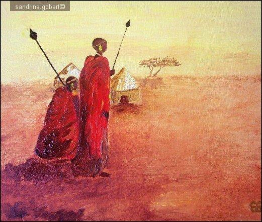 TRIPTYQUE AFRICAIN