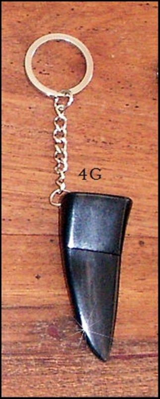 Clé USB en corne : original et utile ; beau cadeau pour Noël !
