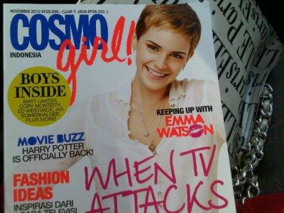Emma en couverture de plusieurs magasines