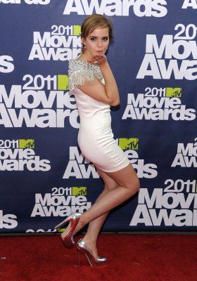 Emma aux MTV movies awards 2011