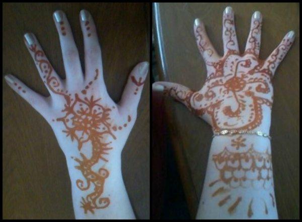 C'est mes mains. ♥