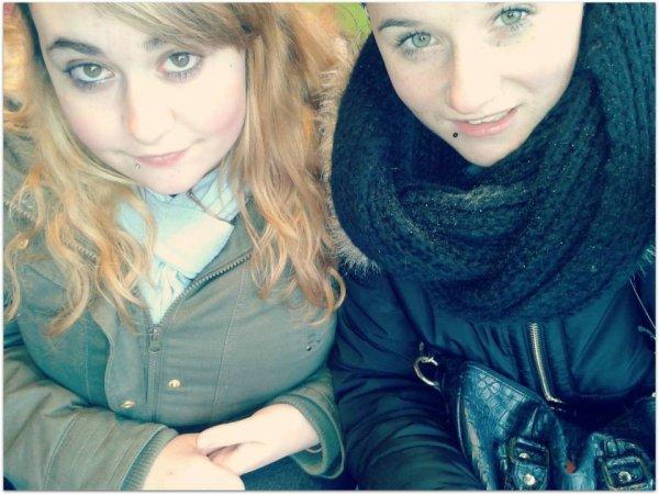 Ma meilleure amie; ma vidaaaaaa *-*♥♥