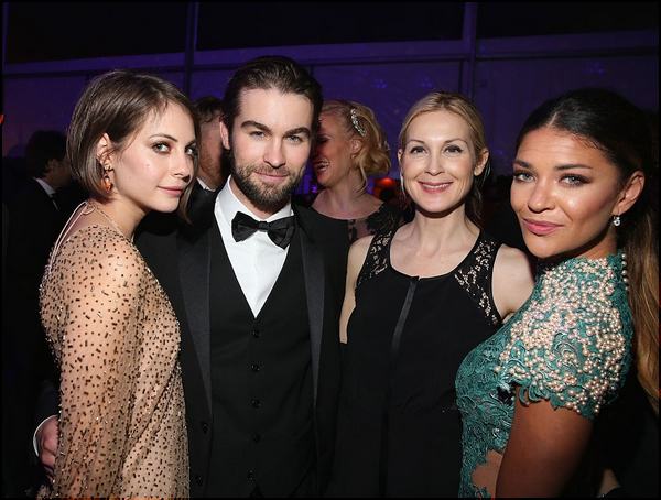 22/02/15: Willa s'est rendue à l'after party des Oscars organisée par la fondation d'Elton John.