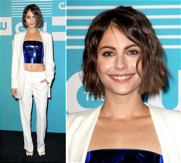 14/05/15: Willa était au CW Upfront se déroulant à New York.