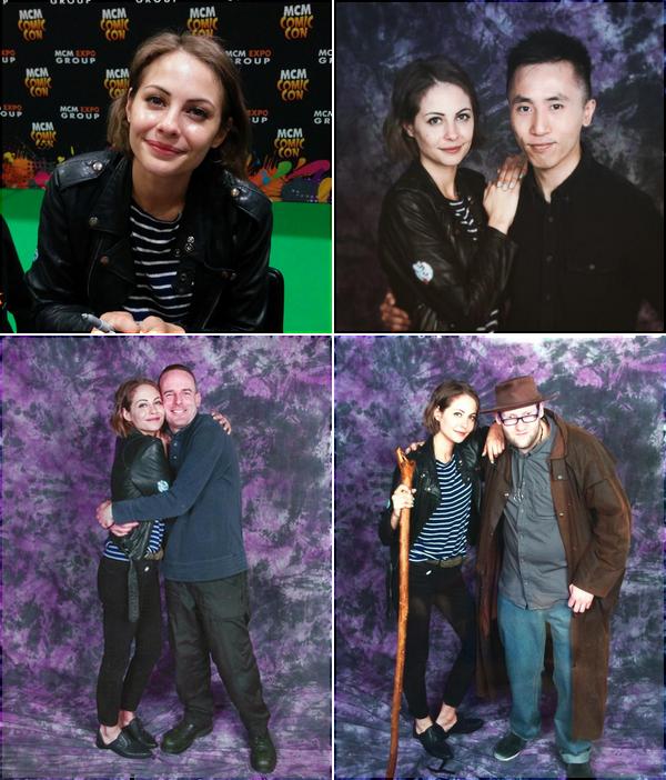 23/05/15: Comme prévu, Willa était au MCM Comic Con à Londres. Elle y a rencontré de nombreux fans et a répondu à plusieurs interview.