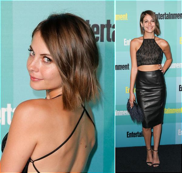10/07/15: Willa était à une fête organisée par la Warner Bros au Comic-Con.