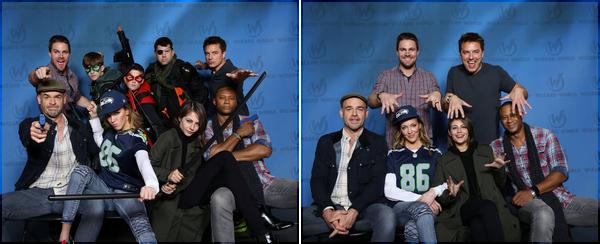 07/11/15: Willa et une bonne partie du casting d'Arrow étaient présentes au Wizard World Comic Con à Louisville.  Au programme de sa journée: séances de dédicaces et photos ainsi que panel de la série.