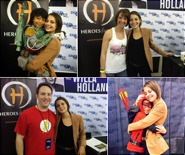 21/11/15: Willa s'est rendue au Hereos & Vilains Fan Fest se déroulant à San Jose (Californie).