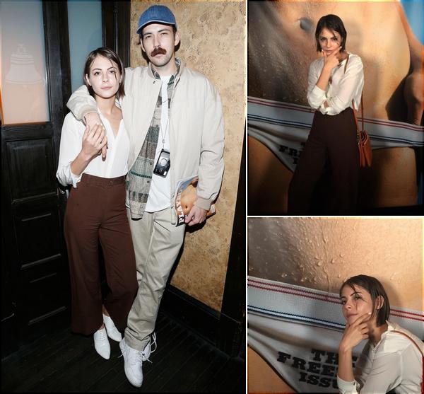 22/06/16: Willa accompagnée de Nate, s'est rendue à une fête organisée par le magazine Playboy.