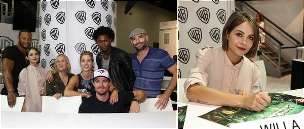 22/07/16:  Willa et l'acteur Echo Kellum ont été aperçus quittant le Comic Con après une soirée.