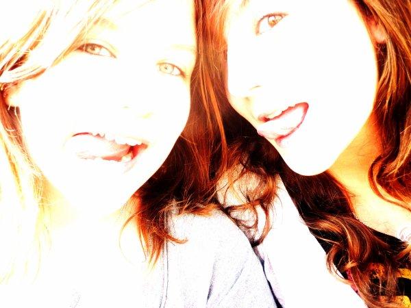 Jumelle ,, Simplement la Meilleure .  ♥   |  Une amie n'est pas forcément quelqu'un que l'on connais depuis longtemps mais quelqu'un en qui on a vraiment confiance.