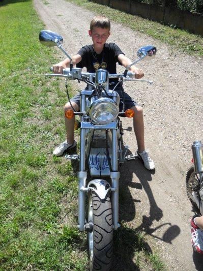 Pont a Mousson concente Harley Davidson