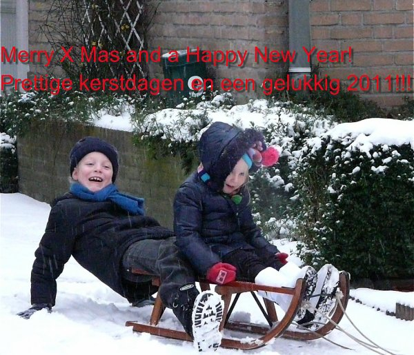 Merry Christmas and a happy new year from Holland