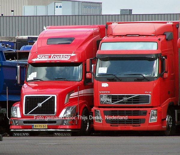 Volvo VN Stam bij BAS Veghel, Nederland