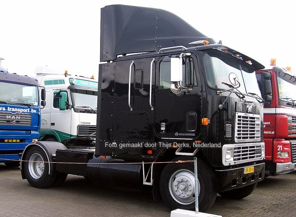 International 9600 Gast Trucks, Venlo, Nederland
