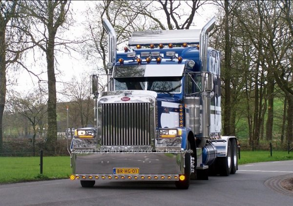 Peterbilt 379 Wim van Kooten, The Netherlands