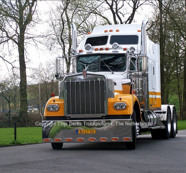 Kenworth W900A Nederland