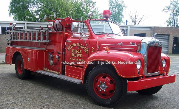 Mack B61 Firetruck Antonissen, Poppel, Nederland