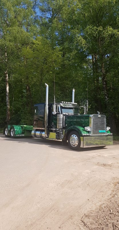 peterbilt 379 green dragon 26/04/2020