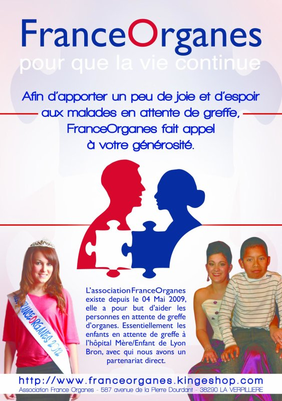 Les flyers France Organes !