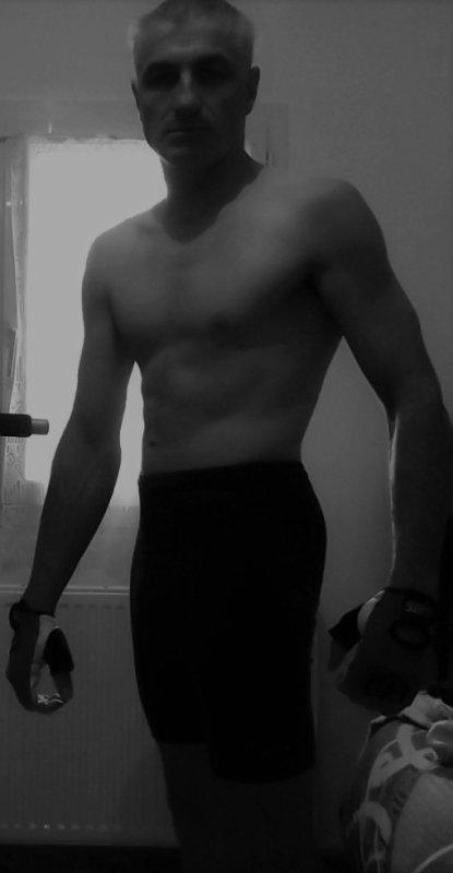 moi aujourd'hui après l'entrainement de musculation