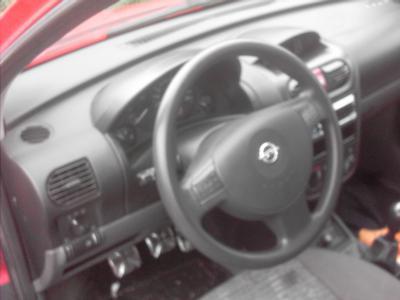 Interieur de l\'opel corsa - Mon Opel corsa C tuning