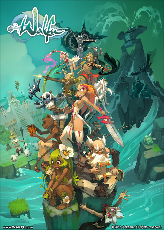 Wakfu : L'illustration officielle !
