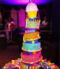 . En ce 18e anniversaire, le 14 mai 2011, admirez le giganteste gâteau dont Miranda a héritéQui ne rêverai pas d'avoir un tel gâteau !  D'ailleurs Mir a posté sur son twitter : « Best cake ever ! »   .
